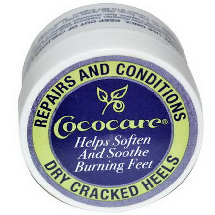 Cococare, Repairs and Conditions Dry Cracked Heels, 5oz (11g)