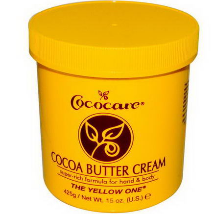 Cococare, The Yellow One, Cocoa Butter Cream, 15oz (425g)