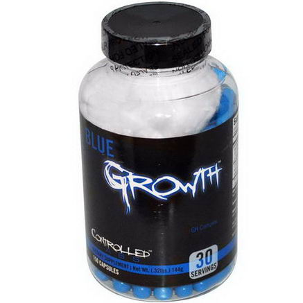 Controlled Labs, Blue Growth, GH Complex, 150 Capsules
