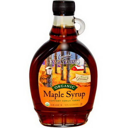 Coombs Family Farms, Organic Maple Syrup, 12 fl oz (354 ml)