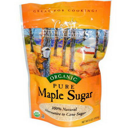Coombs Family Farms, Organic, Pure Maple Sugar, 6oz (170.1g)