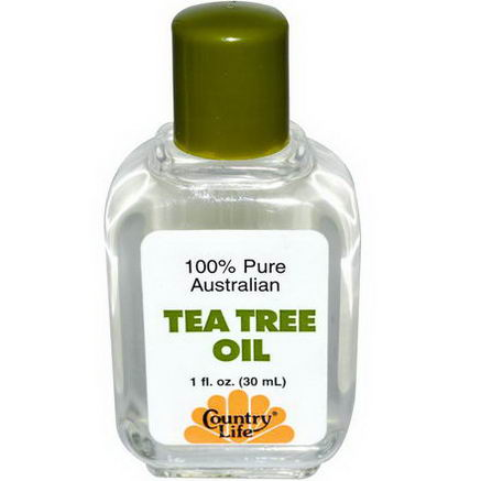 Country Life, Gluten Free, Tea Tree Oil, 1 fl oz (30 ml)