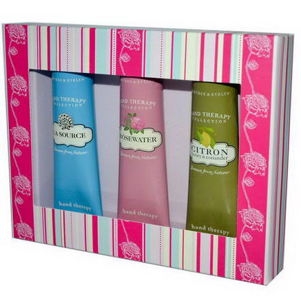 Crabtree & Evelyn, Hand Therapy, Drawn from Nature, 3 Piece Sampler, 1.8oz (50g) Each