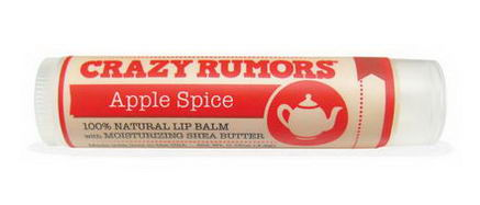 Crazy Rumors, Brew, Lip Balm, Apple Spice, 0.15oz (4.2g)