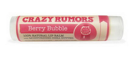 Crazy Rumors, Gumball, Lip Balm, Berry Bubble, 0.15oz (4.2g)