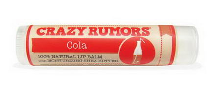 Crazy Rumors, Soda Pop, Lip Balm, Cola, 0.15oz (4.2g)
