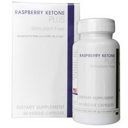 Creative Bioscience, Raspberry Ketone Plus, 60 Veggie Caps