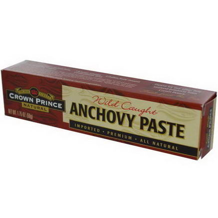 Crown Prince Natural, Anchovy Paste, 1.75oz (50g)