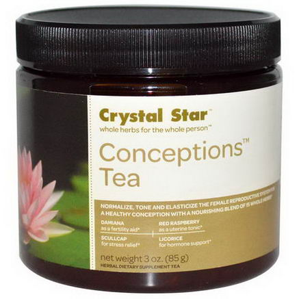 Crystal Star, Conceptions Tea, 3oz (85g)