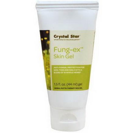Crystal Star, Fung-Ex Skin Gel, 1.5 fl oz (44 ml)