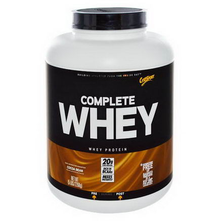 Cytosport, Inc, Complete Whey Protein, Cocoa Bean, 5 lbs (2268g)
