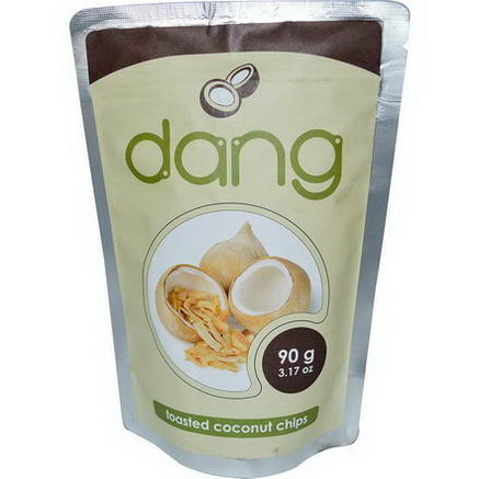 Dang Foods LLC, Toasted Coconut Chips, 3.17oz (90g)
