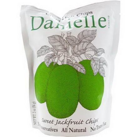 Danielle Chips, Crispy Fruit Chips, Sweet Jackfruit, 2oz (56g)