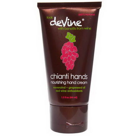 DeVine, Chianti Hands, Nourishing Hand Cream, 1.5 fl oz (44 ml)