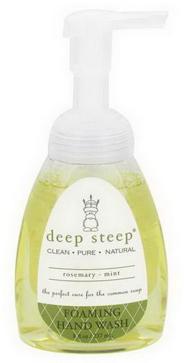 Deep Steep, Foaming Hand Wash, Rosemary - Mint, 8 fl oz (237ml)