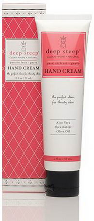 Deep Steep, Hand Cream, Passion Fruit Guava, 2 fl oz (59 ml)