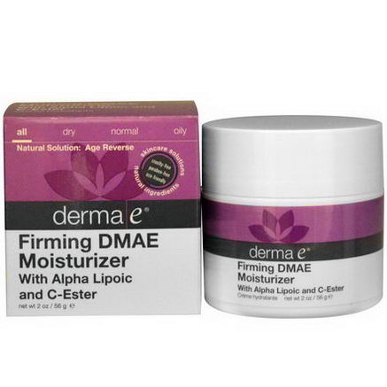 Derma E, Firming DMAE Moisturizer, with Alpha Lipoic and C-Ester, 2oz (56g)