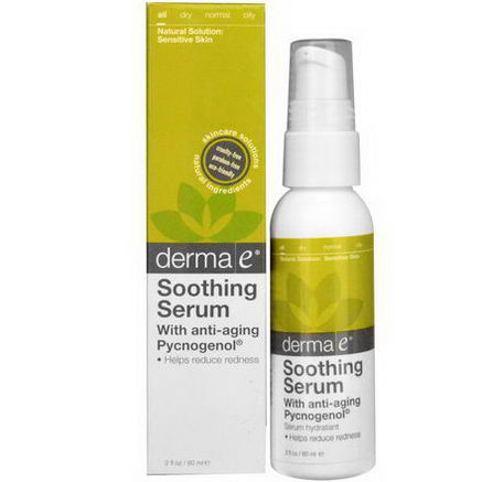 Derma E, Soothing Serum with Anti-Aging Pycnogenol, 2 fl oz (60 ml)