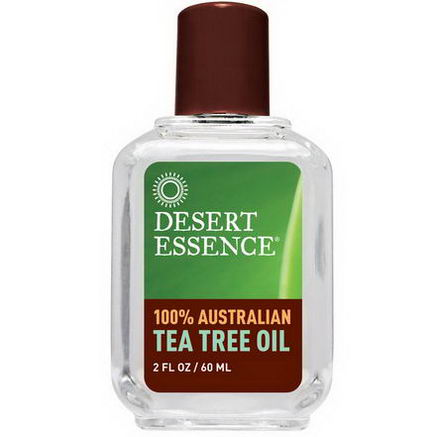 Desert Essence, 100% Australian Tea Tree Oil, 2 fl oz (60 ml)