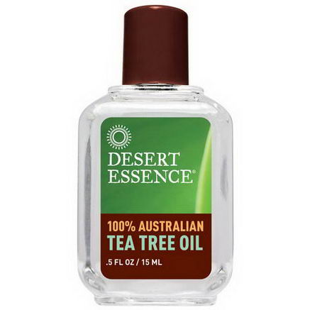 Desert Essence, 100% Australian Tea Tree Oil, 5 fl oz (15 ml)