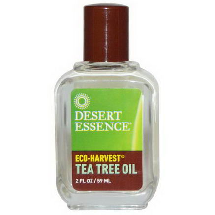 Desert Essence, Eco-Harvest, Tea Tree Oil, 2 fl oz (59 ml)