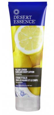Desert Essence, Hand and Body Lotion, Italian Lemon, 8 fl oz (237 ml)