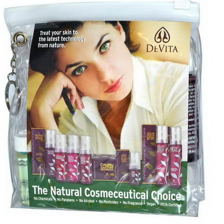 Devita, Try-Me Kit, Anti-Aging Solution, 9 Piece Kit