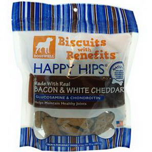 Dogswell, Happy Hips, Bacon & White Cheddar, Treats for All Dogs, 10oz (283.5g)