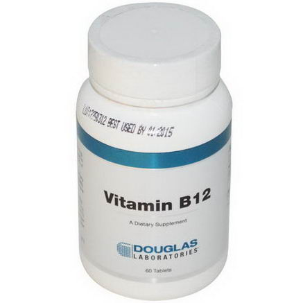 Douglas Laboratories, Vitamin B12, 60 Tablets