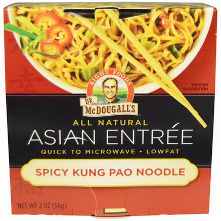 Dr. McDougall's, Asian Entree, Spicy Kung Pao Noodle, 2oz (56g)