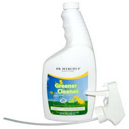 Dr. Mercola, Healthy Home, Greener Cleaner, Stain Treatment, 22oz (622 ml)