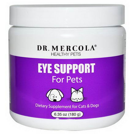 Dr. Mercola, Healthy Pets, Eye Support For Pets, 6.35oz (180g)