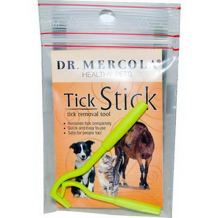 Dr. Mercola, Healthy Pets, Tick Stick, Tick Removal Tool, 2 Sticks