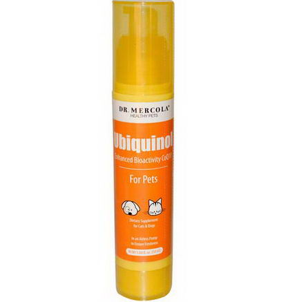 Dr. Mercola, Healthy Pets, Ubiquinol for Pets, 1.84 fl oz (54 ml)