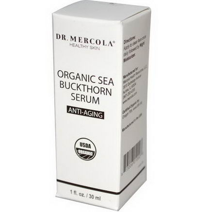 Dr. Mercola, Healthy Skin, Organic Sea Buckthorn Serum, Anti-Aging, 1 fl oz (30 ml)