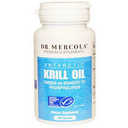 Dr. Mercola, Premium Supplements, Krill Oil, 60 Capsules