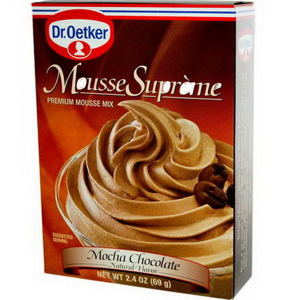 European Gourmet Bakery, Mousse Supreme, Mocha Chocolate, 2.4oz (36g)