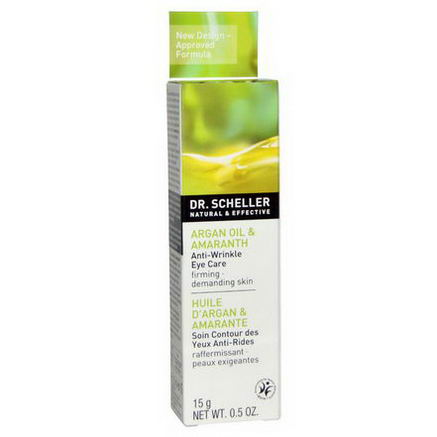 Dr. Scheller, Anti-Wrinkle Eye Care, Argan Oil & Amaranth, 0.5oz (15g)
