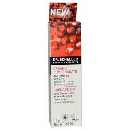 Dr. Scheller, Anti-Wrinkle Eye Care, Organic Pomegranate, 0.5oz (15g)
