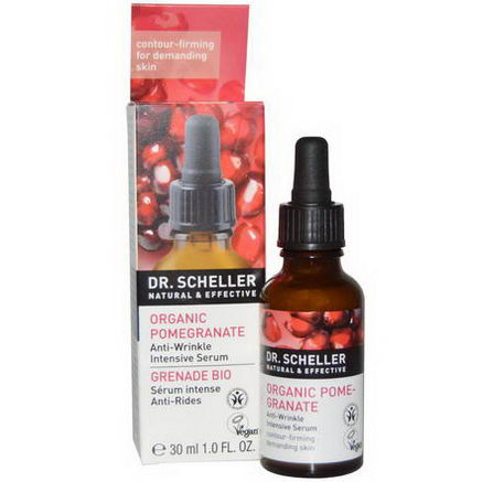 Dr. Scheller, Anti-Wrinkle Intensive Serum, Organic Pomegranate, 1.0 fl oz (30 ml)