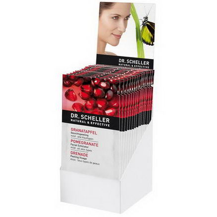 Dr. Scheller, Facial Exfoliator, Pomegranate, 15 Sachets, 10 ml Each