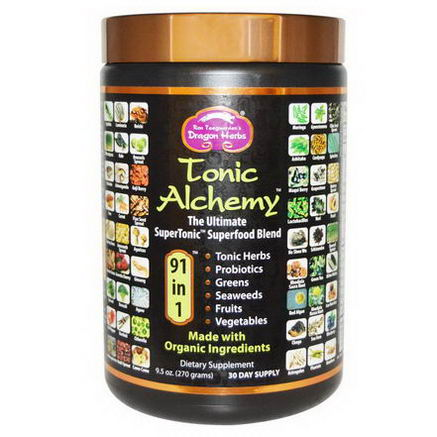 Dragon Herbs, Tonic Alchemy, Ultimate Superfood Blend, 9.5oz (270g)