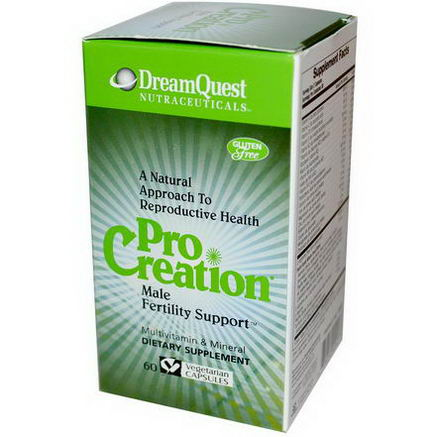 Dream Quest Nutraceuticals, ProCreation, Male Fertility Support, 60 Veggie Caps