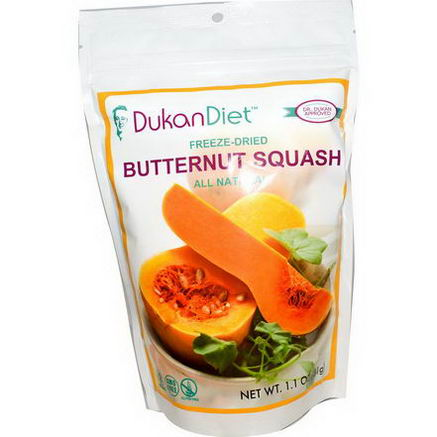 Dukan Diet, Freeze-Dried Butternut Squash, 1.1oz (31g)