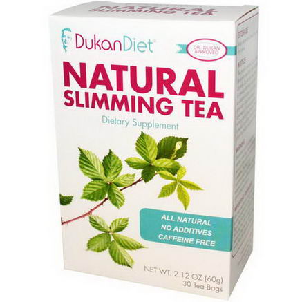 Dukan Diet, Natural Slimming Tea, 30 Tea Bags, 2.12oz (60g)