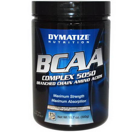 Dymatize Nutrition, BCAA Complex 5050, Branched Chain Amino Acids, 10.7oz (300g)
