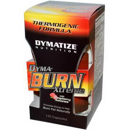 Dymatize Nutrition, Dyma-Burn Xtreme with Raspberry Ketones, 120 Capsules