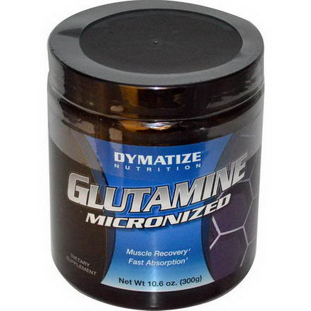 Dymatize Nutrition, Glutamine Micronized, 10.6oz (300g)