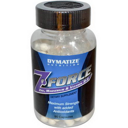 Dymatize Nutrition, Z Force, 90 Capsules