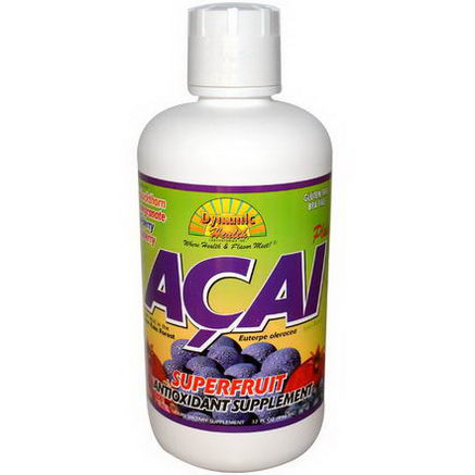 Dynamic Health Laboratories, Acai Plus, Juice Blend, 32 fl oz (946 ml)
